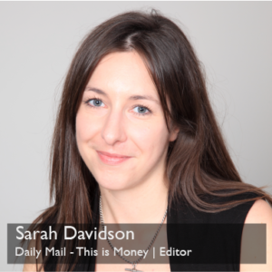 Sarah Davidson - Dily Mail - This is Money